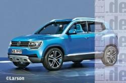 Будущий кроссовер Volkswagen Taigun