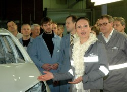 Началась предсерийная сборка Lada Vesta на