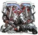 В автомобилях Бентли по-прежнему будут крупные двигатели