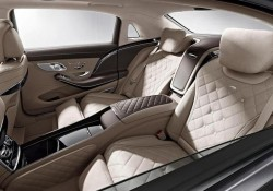 Мерседес Бенз представил интерьер нового автомобиля Maybach