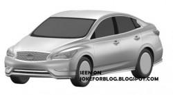 Изображения первого электрического автомобиля Инфинити