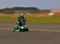 В книге рекордов Гиннеса теперь есть 4-х колесный скутер.