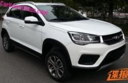 Китайский автомобиль Chery Tiggo должен появиться в виде купе